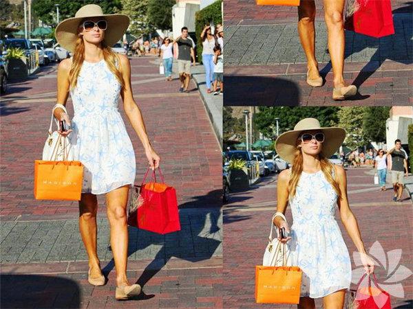 Paris Hilton sokak stili mercek altında... Paris Hilton'un günlük hayatında çok şık olduğunu sokak stilinden anlayacaksınız.  Paris Hilton sokak stili