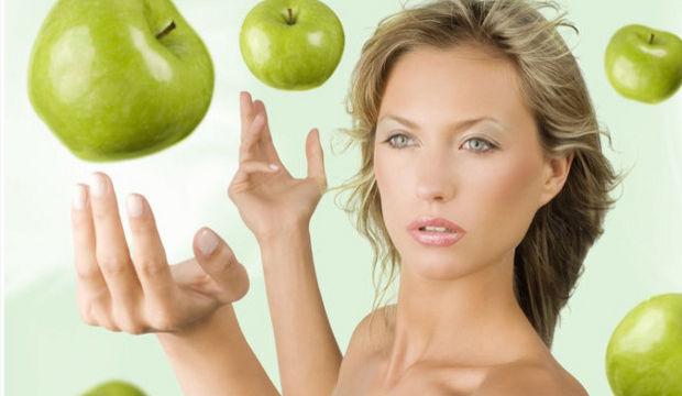 Gripten yeşil elmalı karışımla korunun...