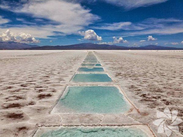 Las Salinas Grandes tuz gölü, Arjantin
