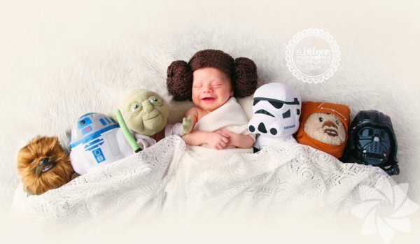 Bebek Prenses Leia