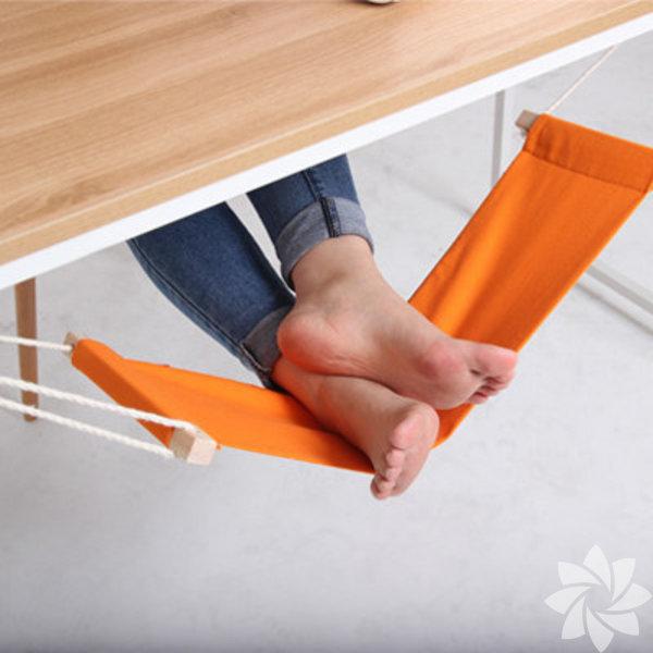 Masa altı ayak hamaklığı