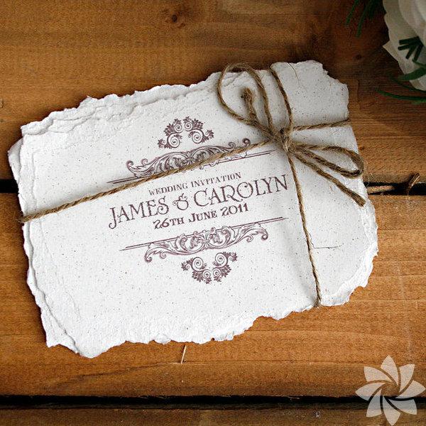 Düğün davetiyelerinde vintage çılgınlığı!