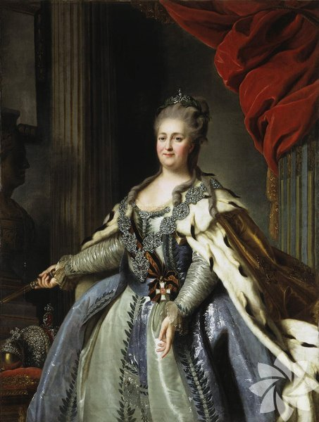 Büyük Katerina (1729-1796) Rusya'yı 18.inci yüzyılının en büyük gücü haline getiren büyük çariçedir. Rus İmparatorluğunun sağlam temelleri onun zamanında atıldı.