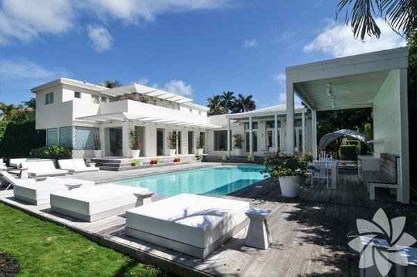 Shakira ve Gerard Piqué ile oğulları Milan ve Sasha'nın Miami'deki muhteşem evleri...  Shakira ve eşi Gerard Piqué'nın evi