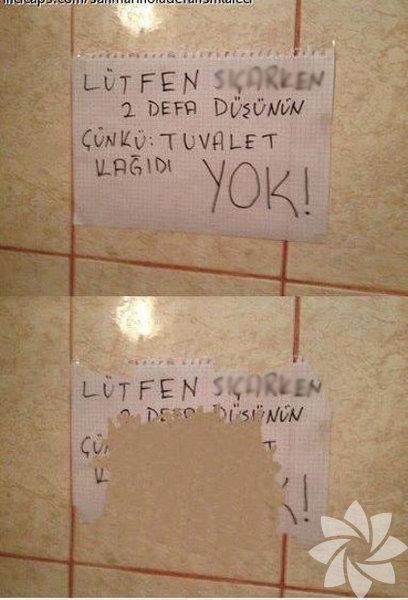 Tuvalet Yazıları 7 Hthayat