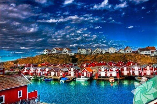 Avrupa'nın en güzel köylerine göz atmaya ne dersiniz? Smögen Köyü, İsveç