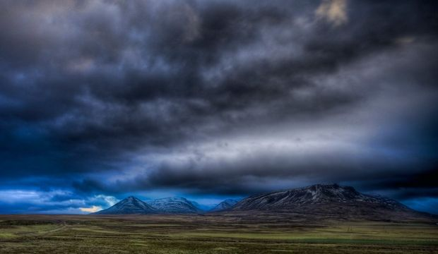 Türkiye'nin Üzerinde Kara Bulutlar