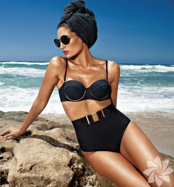 Eski filmlerde gördüğümüz yüksek belli bikiniler henüz trend değilken bu modanın geçmişte kalıp bir daha asla gün yüzüne çıkmayacağını sanırdık...