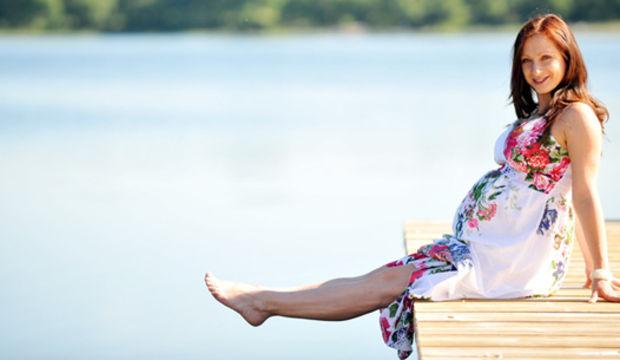 Yaz hamilelerine sağlıklı tatil tavsiyeleri