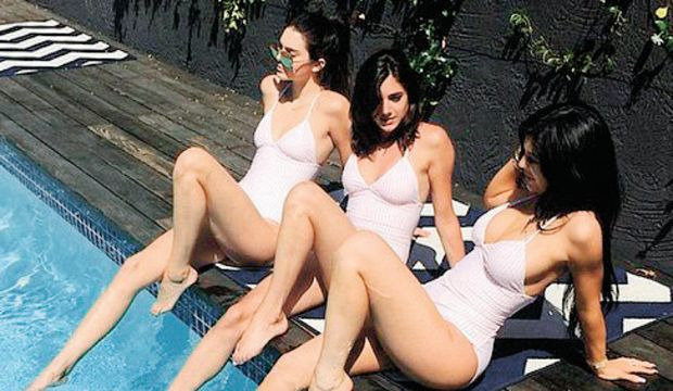 Kardashian'lardan mayo kardeşliği