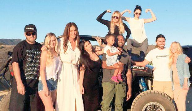 Kadın Jenner'ın ilk Babalar Günü