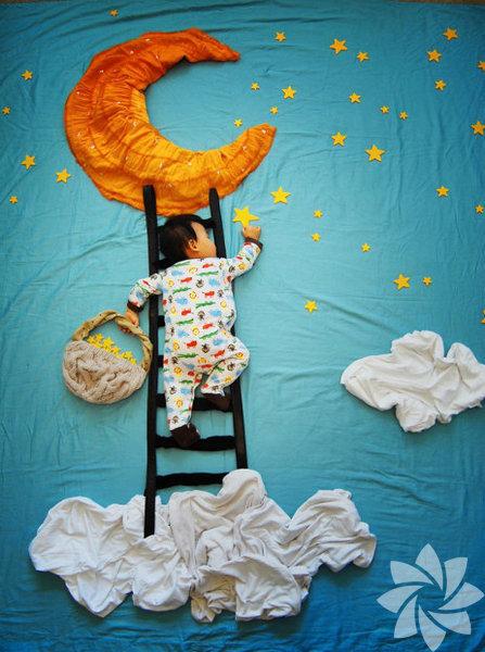 Serbest sanatçı Queenie Liao, üç oğluyla California'da yaşıyor.