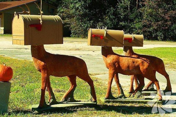 İlginç posta kutuları