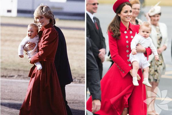 Prens William ve oğlu Prens George benzerliği