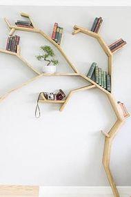 Kitaplarınızı ağaç dallarına koymaya ne dersiniz?