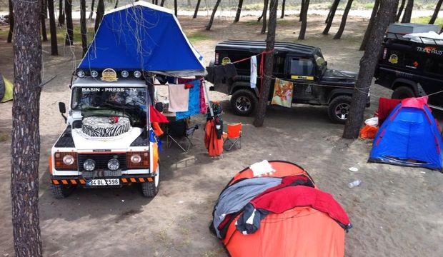 Çadırda tatil macerası
