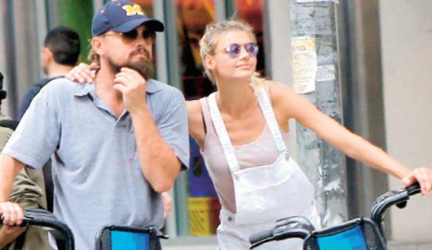 Leonardo DiCaprio çok aşık!