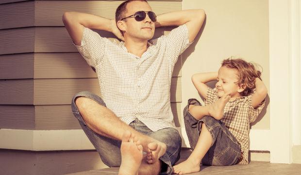 Boşanmış babalarla birlikte olmak için 4 sebep