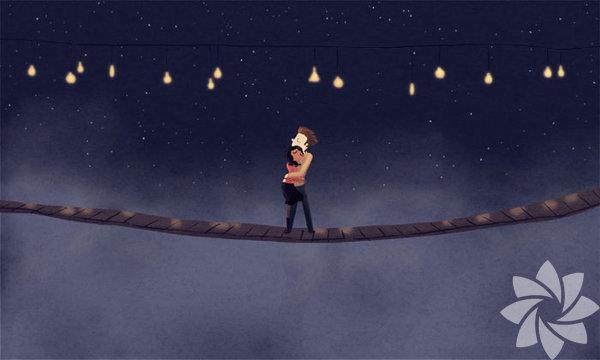 Hindistan asıllı Amerikalı sanatçı Nidhi Chanani, aşk dolu illüstrasyonlar yapıyor.