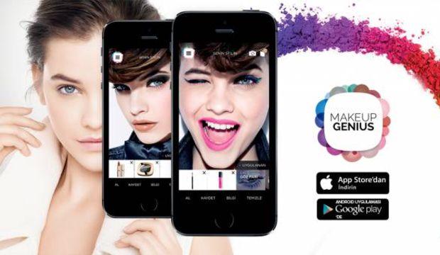 Makeup Genius ile 10 saniyede 10 farklı makyaj!