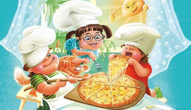 Çocuklar daha az pizza yemeli