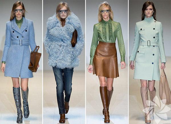 A 60'lar En ikonik ve kendinden sonraki dönemlere ilham kaynağı olan 60'lar modası, bizi geçmişte yolculuğa çıkarıyor. Yolculuk boyunca rehberliğimizi yapacak olan başlıca markalar ise Emilio Pucci, Peter Pilotto, Dior ve Louis Vuitton. 2015 sonbahar kış sezonunda baştan aşağıya dönemin ruhunu taşıyan parçalar kullanarak nostaljik kombinler oluşturabilirsiniz.