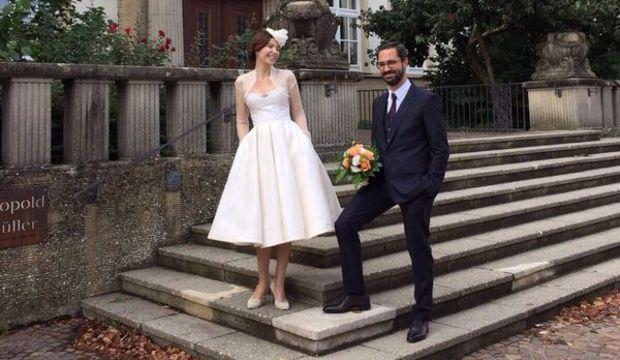 Selma Ergeç ve Can Öz evlendi!