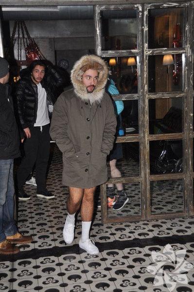Engincan Ural Giyme demiştik değil mi? Vazgeçtik giyin!
