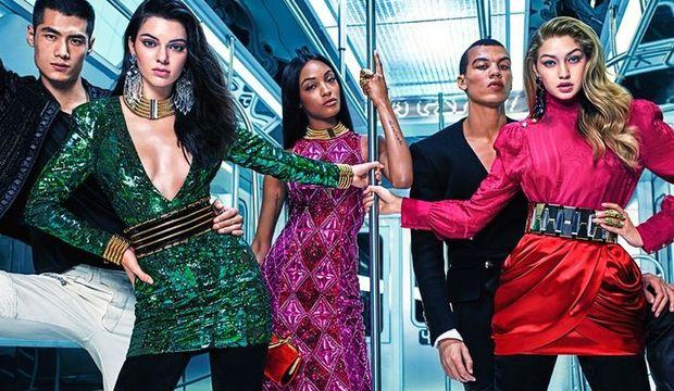 H&M ve Balmain'den muhteşem iş birliği