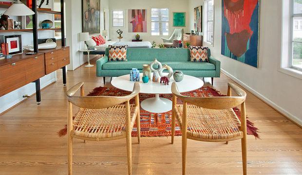 Modern bir ev dekorasyonu için 4 kolay yol