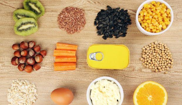 Hangi besinde hangi vitamin var?