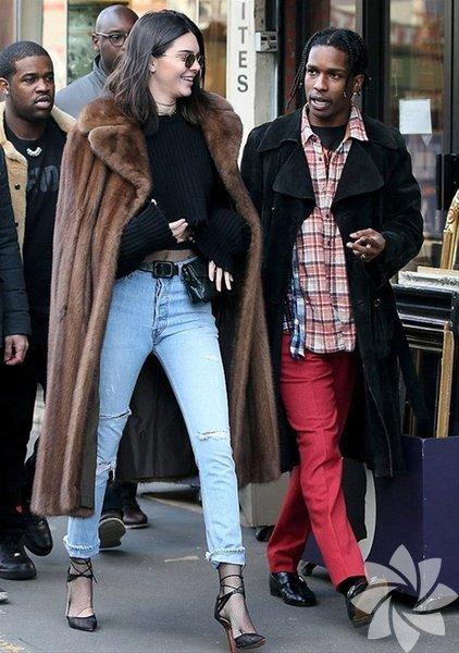 Kendall Jenner, geçtiğimiz aylarda rapçi ASAP Rocky ile görüntülenmişti.