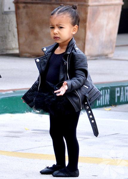 Kim Kardashian ve Kanye West'in kızı North West