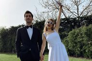 Gamze Erçel evlendi