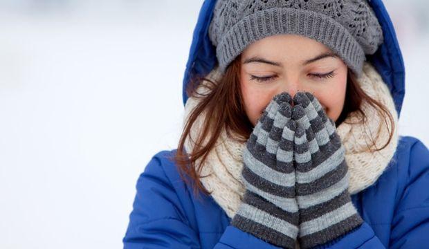 Soğuk ve rüzgarlı hava yüz felcine yol açabilir