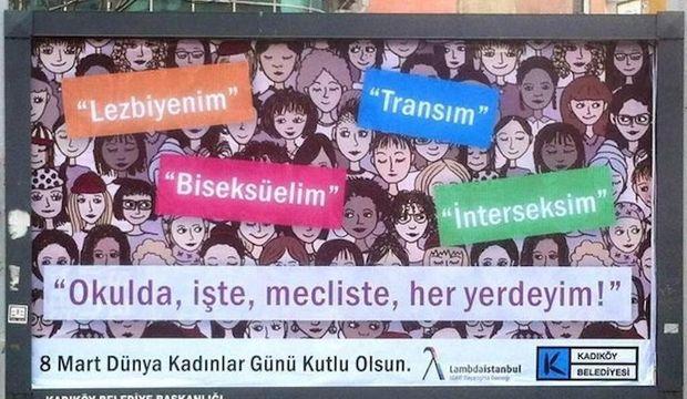 Kadıköy Belediyesi kadınların yanında