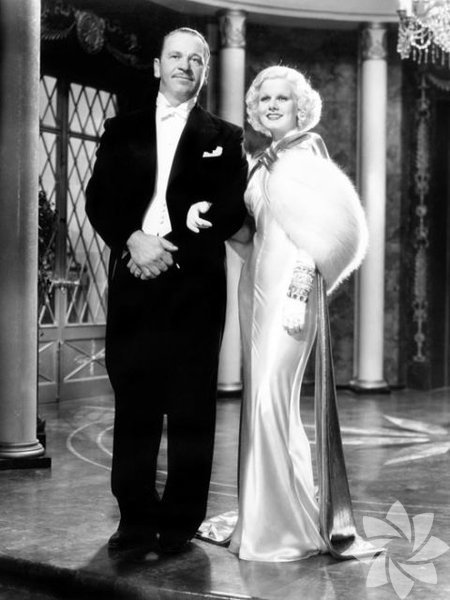 Jean Harlow Dinner at Eight, 1933