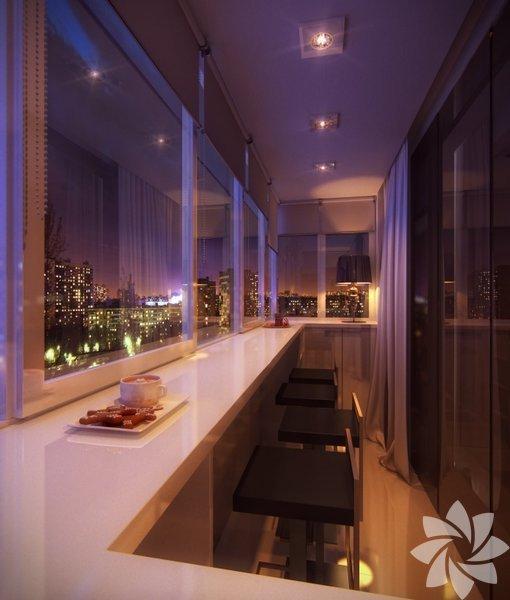 Küçük balkonlarınızı hem rahat hem de şık hale getirebilirsiniz.