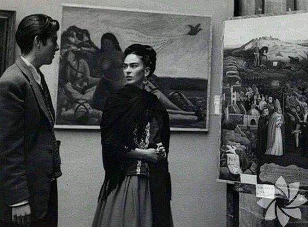 Frida Kahlo, 6 Temmuz 1907 yılında doğdu.