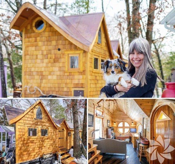 Bernadette, Amerika'nın Maryland şehrinde 16metrekarelik bir evde yaşıyor.