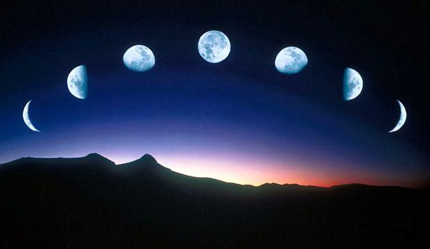 Ay, Aslan burcunda dolaşıyor