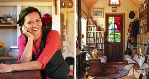 Yeni Zelanda'da yaşayan Lily Duval, hayallerindeki evi yapmak için kolları sıvadığında 27 yaşındaydı.