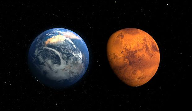 Mars durmaya başlıyor