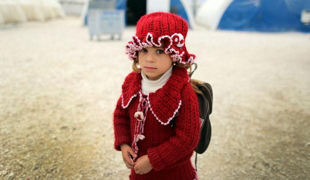 Suriyeli çocuklar piknikte buluşuyor