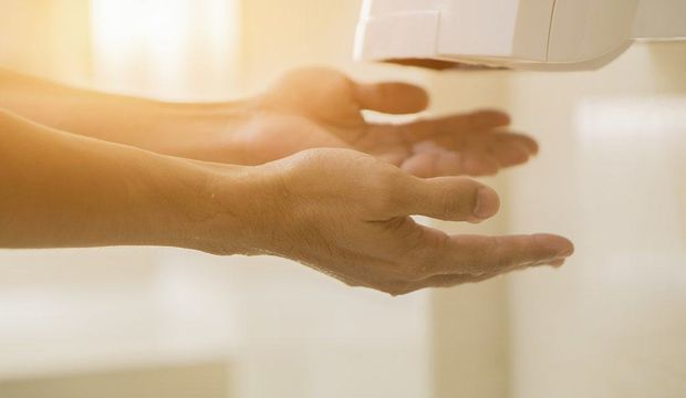 Ellerinizi bu makinede kurutuyorsanız...