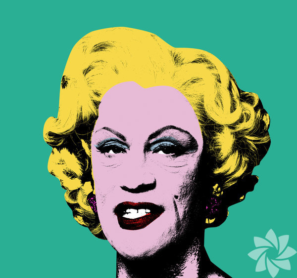 Sandro Miller, Andy Warhol / Green Marilyn (1962)