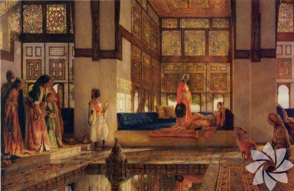 Osmanlı'da sarayın tercih ettiği lüks ve ihtişam, Harem kadınlarının elbiselerine de yansıdı. Varlıklı ve şehirli ailelerde kadınların giyim kuşamlarına Harem'in tercihleri yön verirdi.