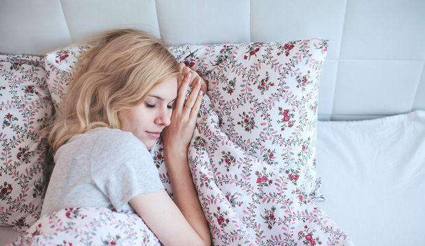 Uyurken sol tarafınıza yatın çünkü...