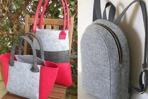 c07fb72c30055 El yapımı keçe çanta modelleri - HTHayat