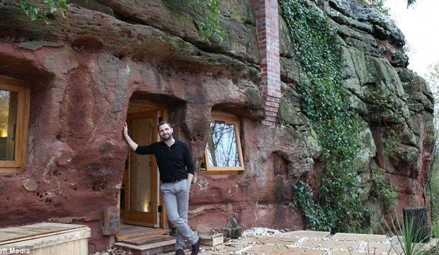 700 yaşındaki mağarayı eve çevirdi